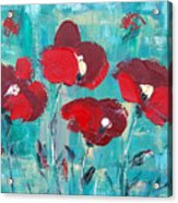 Red Poppies 2 Acrylic Print