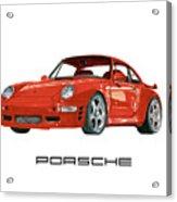 1997  Porsche 993 Twin Turbo R Acrylic Print