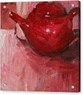 Red Pot Acrylic Print