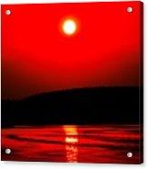 Red Power Acrylic Print