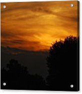 Red Red Sunset Acrylic Print