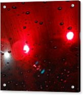 Red Reflection Acrylic Print
