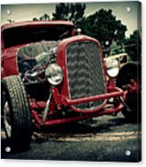 Red Ride Acrylic Print
