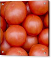 Red Ripe Tomatoes Acrylic Print by John Trax