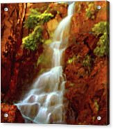 Red River Falls Acrylic Print