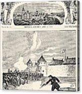 Red River Rebellion, 1870 Acrylic Print