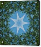 Red River Star Kaleidoscope 1 Acrylic Print