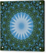 Red River Star Kaleidoscope 2 Acrylic Print