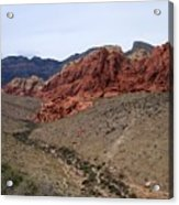Red Rock Canyon 1 Acrylic Print