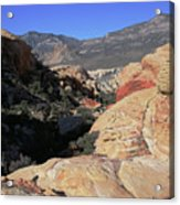 Red Rock Canyon Nv 7 Acrylic Print