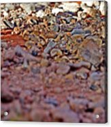 Red Rock Canyon Stones 1 Acrylic Print