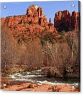 Red Rock Crossing Sedona Arizona Acrylic Print