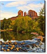Red Rock Crossing Three Acrylic Print