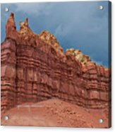 Red Rock Formation Acrylic Print
