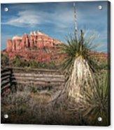 Red Rock Formation In Sedona Arizona Acrylic Print