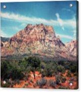 Red Rock II Acrylic Print
