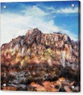 Red Rock IIi Acrylic Print