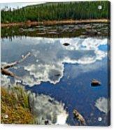 Red Rock Lake Fall Study 2 Acrylic Print