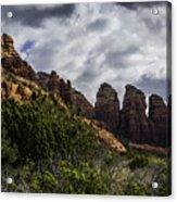Red Rock Landscape From Sedona Arizona Acrylic Print