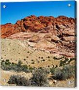 Red Rock Mountain Acrylic Print