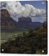 Red Rock Of Sedona Arizona Acrylic Print
