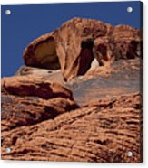Red Rock Texture 2 Acrylic Print