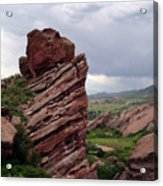 Red Rocks Colorado Acrylic Print