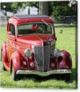Red Rod Acrylic Print