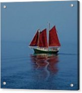 Red Sails On Superior Acrylic Print