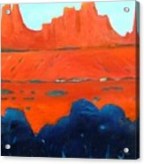 Red Sedona Acrylic Print