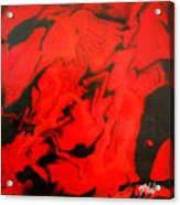 Red Series No. 1 Acrylic Print