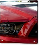 Red Shelby Acrylic Print