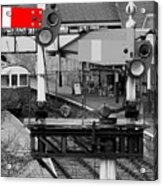 Red Signal Acrylic Print
