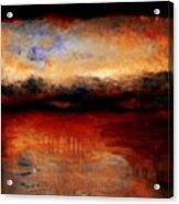 Red Skies At Night Acrylic Print