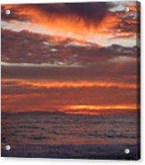 Red Sky II Acrylic Print