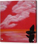 Red Sky1 Acrylic Print