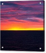 Red Skys In The Morning Acrylic Print