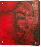 Red Stain Acrylic Print