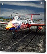 Red Star Viper United States Side Acrylic Print