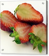 Red Strawberry Acrylic Print