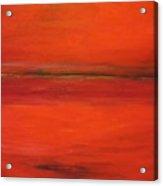 Red Study Acrylic Print