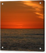 Red Sunset Acrylic Print
