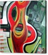 Red Symbol Acrylic Print