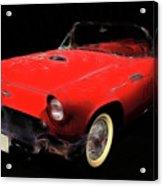 Red Thunder Acrylic Print