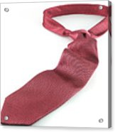 Red Tie Acrylic Print