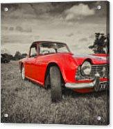 Red Tr4  Acrylic Print