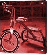 Red Trike Acrylic Print