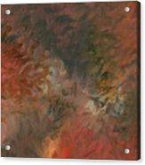 Red Triumph Acrylic Print