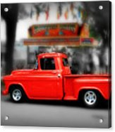 Red Truck Acrylic Print