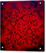 Red Velvet By Madart Acrylic Print